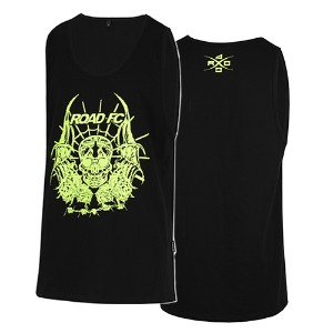 Skull Sleeveless - Black